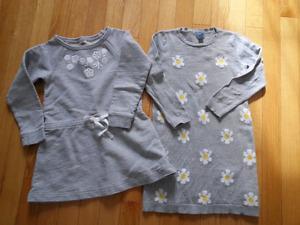 4t Oshkosh and GAP dresses
