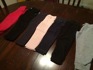 7 pair of pants size 3T