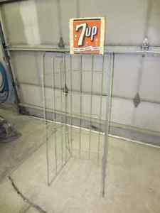 7UP Display Rack Vintage