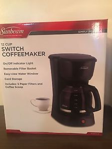 BRAND NEW COFFEE MAKER!