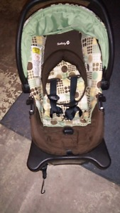 Baby car seat and stroller