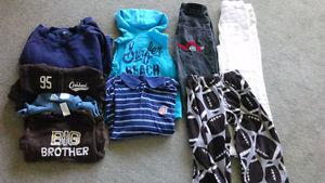 Boys 4-5t clothing