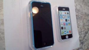 For Sale One Blue 16 GB 5C iphone
