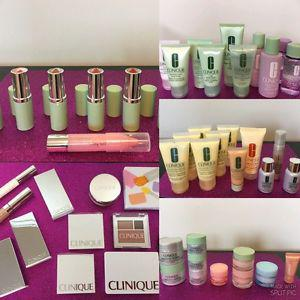 GIGANTIC LOT OF BRAND NEW CLINIQUE PRODUCTS !