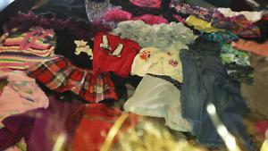 Girl's clothes size 4t and 5t