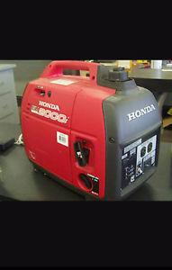 Honda Eu inverter generator