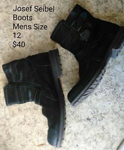 Josef Seibel Boots Mens Size 12
