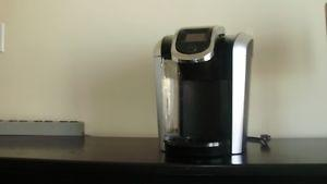 Keurig coffee make with over 15 pods