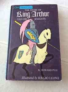 King Arthur vintage hardcover