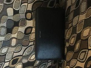 Large Black Matt & Nat Wallet