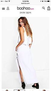 Maxi dress (white)