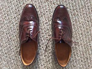 Men's size 10,brown dress shoes