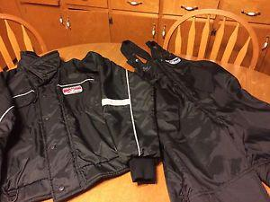 Mustang Ice Rider Snowmobile Bomber Jacket and Bib Pants