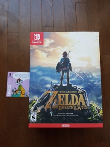 NIB Zelda: Breath of the Wild Special Edition