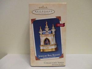 New Hallmark Jewelry Box Ballet Ornament