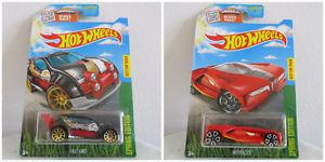 New Hot Wheels Lot of 2 Spring Edition Cars