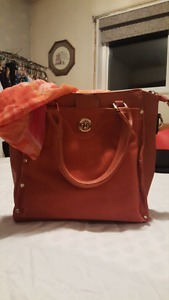 New Ladies Handbag and Scarf