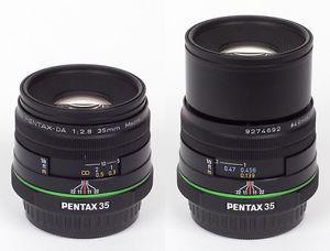 Pentax SMC 35mm F/2.8 Macro Limited