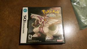 Pokemon pearl Nintendo ds game