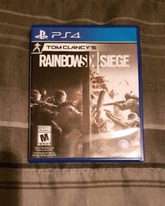 Rainbow Six Siege in mint condition for sale.