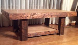 Rustic maple coffee table,reclaimed wood