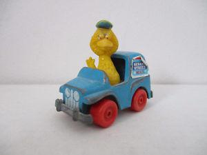 Sesame Street Big Bird Metal Mail Truck