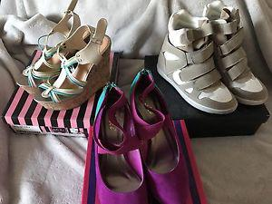 Shoes/sandals $20 each or $50 for all 3 size 8