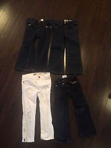 Size 4 girls osh kosh and gap jeans