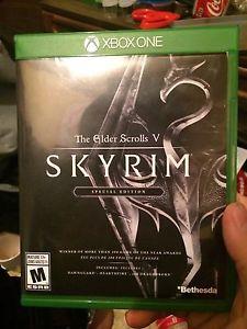 Skyrim remastered Xbox one