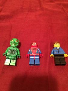Spider man movie Lego