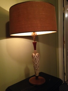 Vintage Lamp with Awesome Shade
