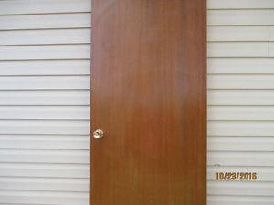 Wanted: wanted Mahogany Door