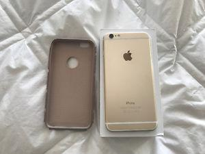 iphone 6 plus gold very good condition