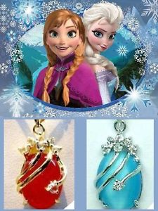 Frozen movie Snow Queen Elsa & Princess Anna Necklaces