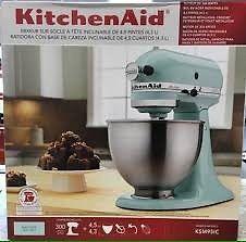 Ice blue 300 watt kitchen aid