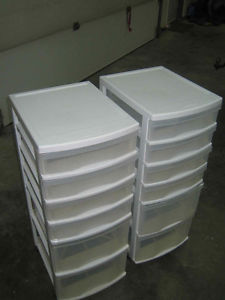 Two sets of Storage Cabiets