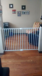 Wide baby gate for sale