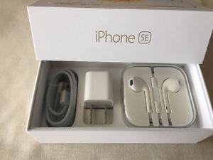 iPhone 5SE box with brand new original accessories