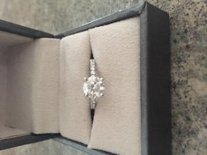 1.2 carat forevermark diamond engagement ring