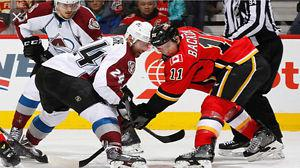 2 Tickets to see the Colorado Avalanche vs Calgary Flames