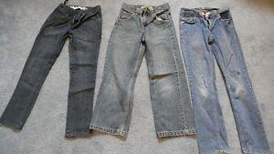 3 pairs boys size 10 Jeans. All in good condition. $10 OBO.