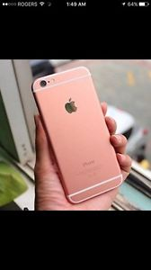 32 GB Rose gold iPhone 6s mint condition