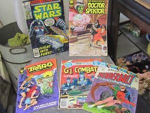 BUNCH OF OLD COMIC BOOKS $2.00 EACH STAR WARS DAFFY MARVEL