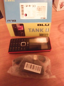 Blu Tank 2 cell phone - never used