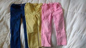 Colored skinny jeans lot