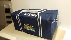 Custom hockey jerseys, bags, shells, and more!
