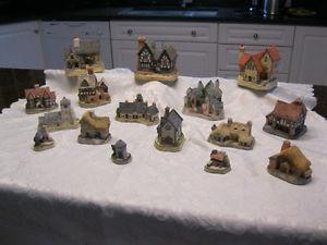 David Winter Cottages - Set of 16