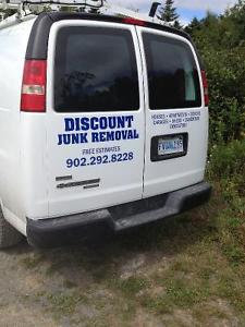 Discount Junk Removal Free Estimate! We Hall Anything!!