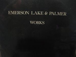 Emerson Lake and Palmer Works Vol 1 and Vol 2