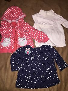 Girls clothes size  months